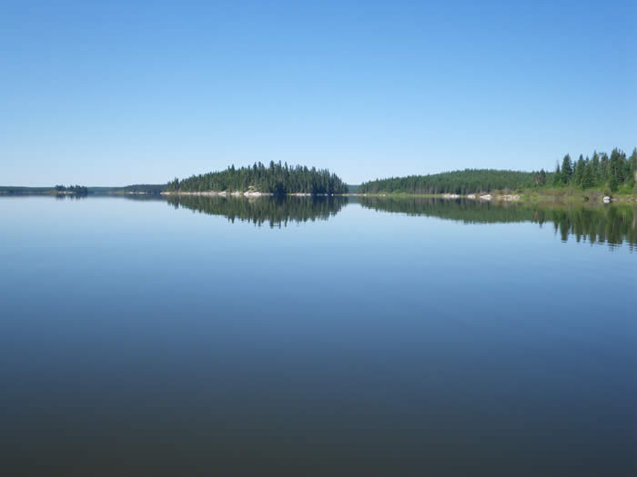 Solo Canoeing the Middle Churchill River