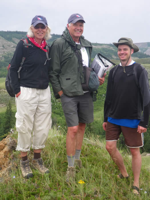 Dinosaurs of Alberta's Red Deer River Badlands Expedition I